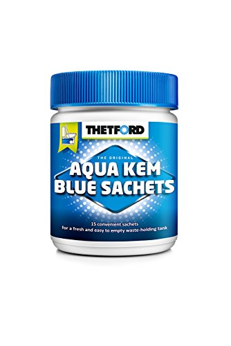 Thetford Sanitärflüssigkeit Aqua Kem Sachets 15 Btl., Blue, 30262