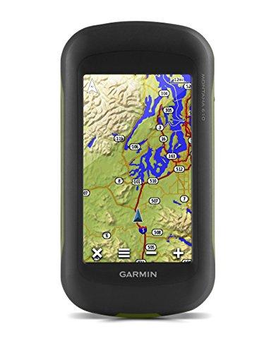 Garmin Montana 610 Outdoor-Navigationsgerät, ANT+ Konnektivität, barometrischen Höhenmesser, GPS und GLONASS, 4 Zoll (10,2cm) Touchscreen-Display