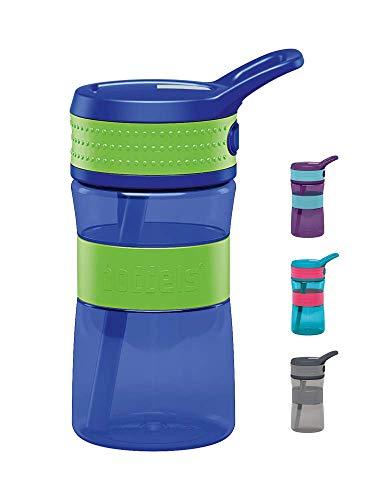 BODDELS Trinkflasche EEN 400ml (Apfelgrün / Blau)