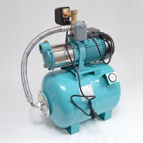Hauswasserwerk 50 Liter 5-stufige Pumpe MHi1800 9000l/h Trockenlaufschutz SK-13