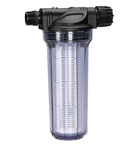 Garden 1730-20 Vorfilter für Pumpe, Filtereinsatz ist leicht zu entnehmen und einfach auszuwaschen, besonders zu empfehlen beim Fördern von sandhaltigem Wasser (Wasserdurchfluss bis 6.000 l/h)