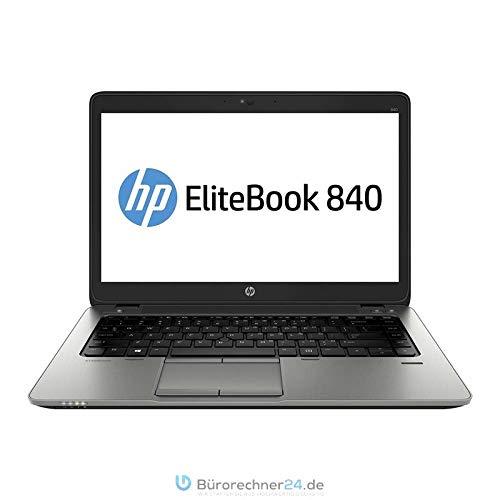 HP Elitebook 840 G2 - Premium Business-Notebook - Intel Core i5 - 2,30GHz, 180GB SSD, 8 GB RAM, 14in Zoll 1600x900 HD+ Display, Windows 10 Pro - (Generalüberholt) (8GB RAM   256GB SSD)