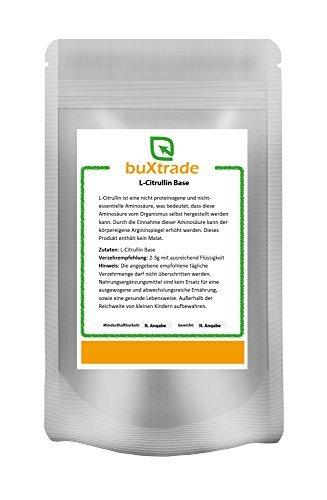 1 kg L-Citrullin Base - rein | Aminosäure | ohne Malat