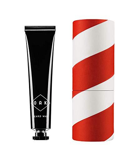OAK BEARD WAX I Schnurrbartwichse, Moustache Wax (15 ml): Gibt dem Schnauzbart bleibende Form. Natürliches Bartstyling für Männer mit Schnurrbart. Zertifizierte Naturkosmetik aus Berlin.
