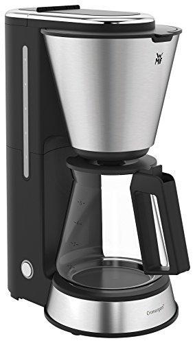 WMF KÜCHENminis Aroma Filterkaffeemaschine mit Glaskanne, 760 W für 5 Tassen, kompaktes, platzsparendes Design, Warmhalteplatte mit Abschaltautomatik