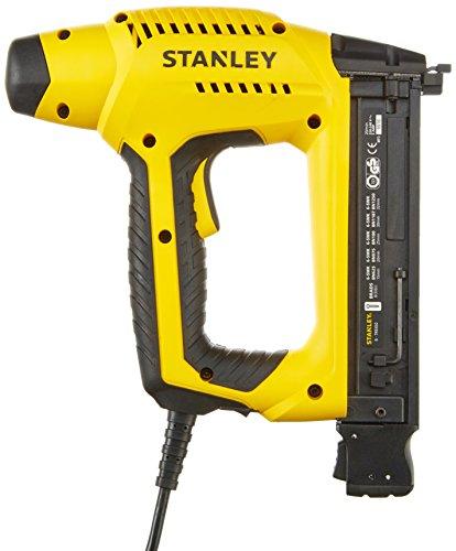 Stanley HD Elektrotacker (2.5m Kabellänge, Soft Grip, Sicherheitskontakt-Schalter, Krafteinstellrad) 6-TRE650