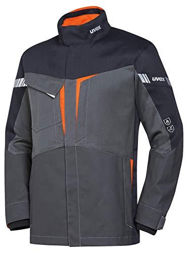 Uvex Protection Metal 8933 - Graue Sicherheitsjacke für Herren - Gr L
