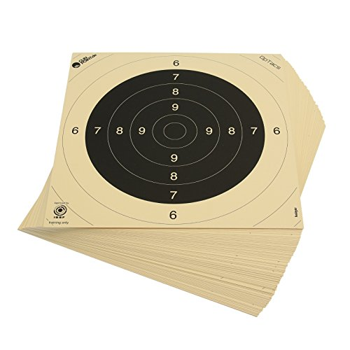 OpTacs Pistolen-/ Kleinkaliberscheibe 26 x 26 cm - 250er Pack