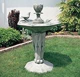 Brunnen aus Betonwerkstein inkl. Pumpe und Zubehör Säulenbrunnen Kaskadenbrunnen Terassenbrunnen Steinbrunnen