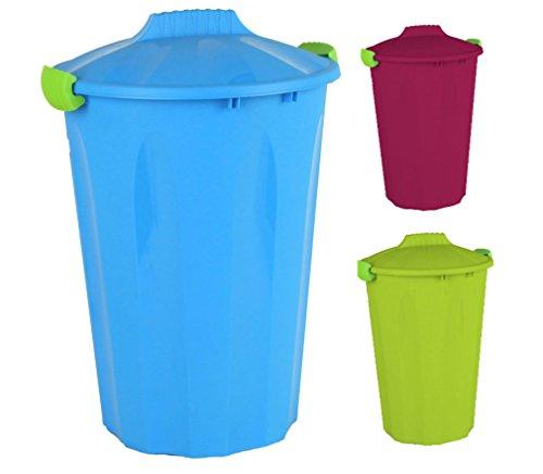 Maxitonne 40 Liter mit feststellbarem Deckel - Universaltonne, Mülltonne in verschiedenen Farben