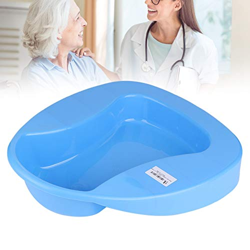 Hochwertiger Bettpfanne, fester dicker Kunststoff, stabiles Töpfchen Bettpfanne für ältere Menschen, Schwangere Frauen Kinder Bettgebunden Patienten