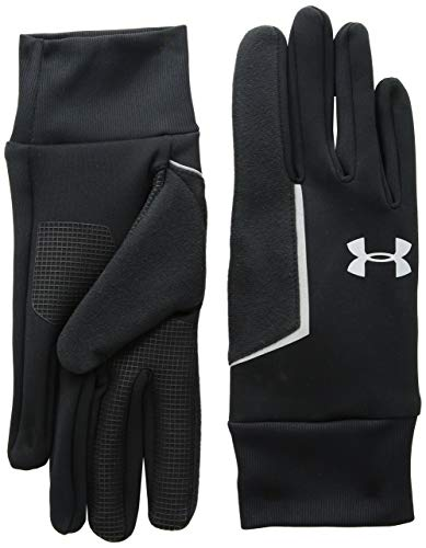 Under Armour Herren Mens SS CGI Run Liner Glove Handschuhe Black/Silver (001), LG