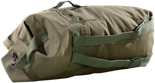 Xcase Rucksack: Extragroßer Canvas-Seesack, 100 Liter (Canvas Seesäcke Rucksäcke)