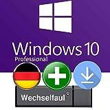 Microsoft Windows 10 Pro - Original Lizenzschlüssel mit 8 GB USB Stick und Anleitung von Wechselfaul - 32 bit und 64 bit