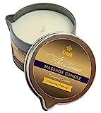 Amor Vibratissimo Massagekerze'Caramel Cream', 100ml, schmeichelndes und beruhigendes Karamellaroma in attraktiver Dose mit Ausgießer