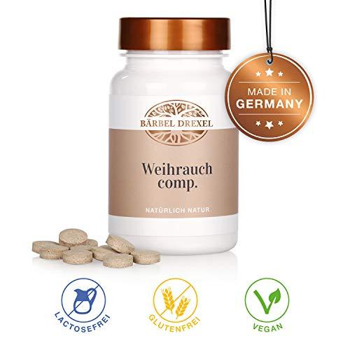 BÄRBEL DREXEL Weihrauch comp. Kapseln (140 Stk) 100% Vegane Herstellung Deutschland Boswellia Serrata Myrrhe