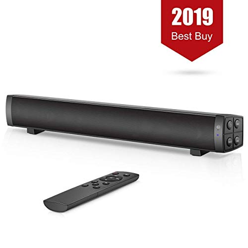 XINGDOZ Soundbar Lautsprecher, 4.2 Bluetooth-Gerät Streamin, Wireless StereoanlageSpeecker tragbare USB Soundbar, für Handy Tablet Computer PC TV (Unterstützung 3,5 mm Audioeingang)