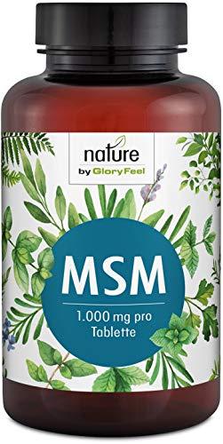 MSM 365 vegane Tabletten - 2000mg MSM (Methylsufonylmethan) Schwefel-Pulver PLUS natürliches Vitamin C aus Acerola pro Tagesdosis - Laborgeprüfte Herstellung ohne Zusätze in Deutschland