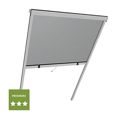 wip Insektenschutzrollo Alu für Dachfenster 100x160cm weiß