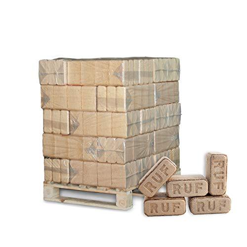 PALIGO Holzbriketts Ruf Hartholz Eiche Kamin Ofen Brenn Holz Heiz Brikett 10kg x 30 Gebinde 300kg / 1 Palette Heizfuxx
