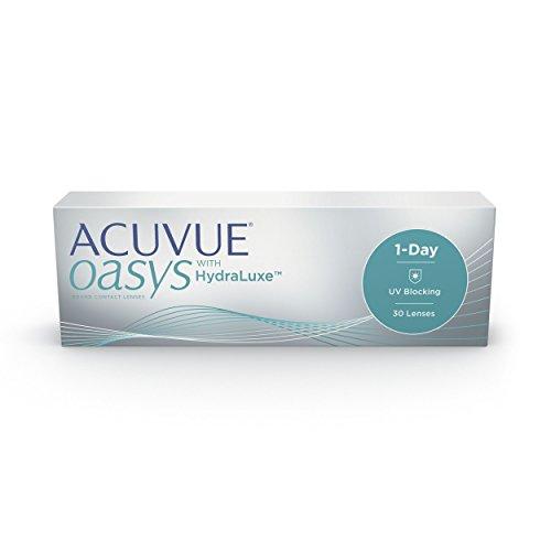 Acuvue Oasys Tageslinsen weich, 30 Stück/BC 8.5 mm/DIA 14.3 mm/-3 Dioptrien