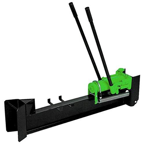 Charles Bentley - Holzspalter mit 10 t Spaltkraft - handbetrieben, hydraulisch, liegend - Grün
