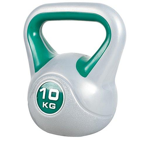GORILLA SPORTS Kettlebell Stylish 2-20 kg Kunststoff – Fitness-Kugelhantel