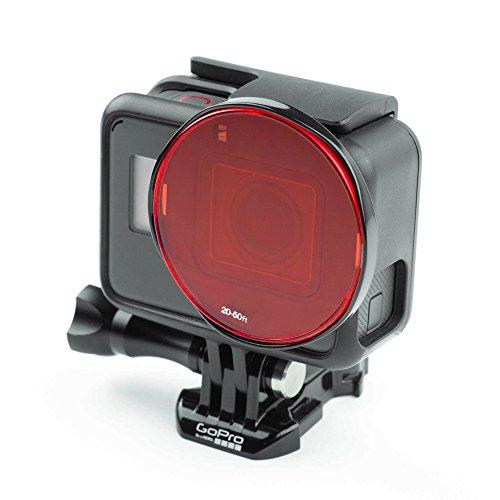 SANDMARC Aqua Filter: Tauchen Filter für GoPro - Rot, Magenta und Gelb Filter Set - Tauchen und Schnorchel Zubehör - 5 Pack (HERO 4 / 3+)