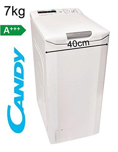 Candy Toplader 7Kg Waschmaschine 40cm 1400 U/min A+++ Display Startzeitvorwahl
