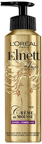L'Oréal Paris Elnett Crème de Mousse Locken, 3er Pack (3 x 200 ml)