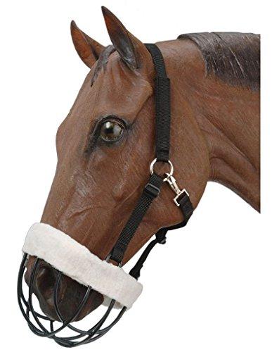 JT Tough-1 Freedom Maulkorb mit Nylon-Headstall, Pferd