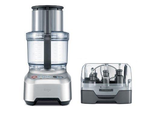 Sage Appliances SFP800 Kompakt-Küchenmaschine The Kitchen Wizz Pro, 2000 W, Gebürstete Edelstahloptik