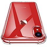 CANSHN iPhone XR Hülle, Hochwertig Transparent Weiche Durchsichtig Dünn Handyhülle mit TPU Stoßfest Fallschutz Bumper Case Cover für Apple iPhone XR 6.1'' - Klar