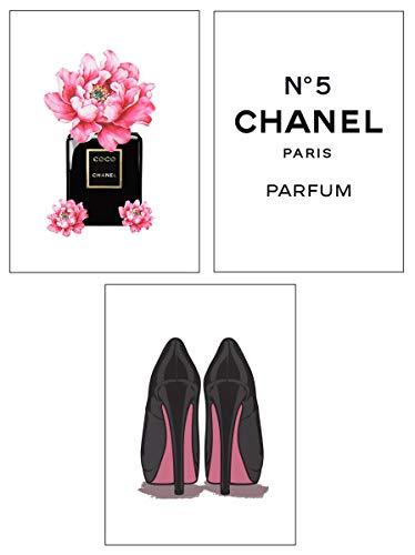 4Good Epictures Premium Poster als Wandbild | Bilder Set Fuer Moderne Wohnzimmer Deko/Wandbild Schlafzimmer deko Coco Chanel/Dior | pefekte Wandbilder ohne Rahmen (Coco Chanel, A4)