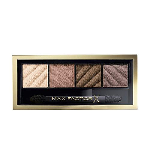 Max Factor Smokey Eye Dramakit Alluring Nude 10, Eyeshadow-Set für den klassischen Look, 2 g