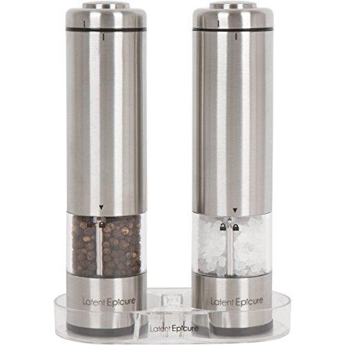 Latent Epicure Salz und Pfeffermühle (Einzeln und 2er Set)