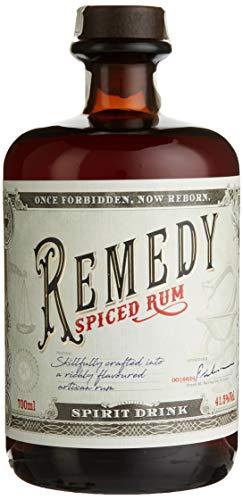 Remedy - Spiced (Rum-Basis) (1 x 0,7 l) - Remedy Spiced ist ein feiner Blend aus karibischen Rums