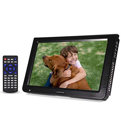 VBESTLIFE DVB-T-T2 Tragbarer Fernseher Digital Analog Fernsehen Portable TV,1024x600 Auflösung,RMVB/AVI/MPEG/MKV/MOV 1080P-Video, (Aktualisierte Version 10 Zoll)