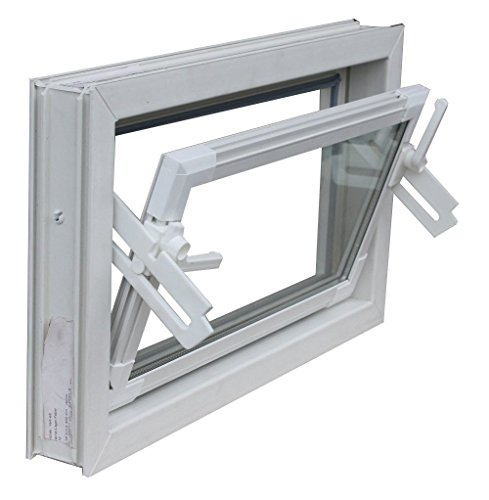 Kellerfenster weiss 60 x 40 cm Einfachglas