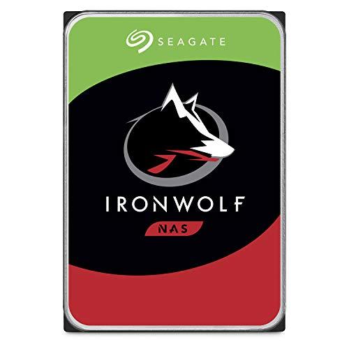 Seagate ST6000VNZ033 IronWolf Interne Festplatte (3, 5 Zoll/ 8, 9 cm, 6 TB, für 1 - 8 Bay) silberfarben