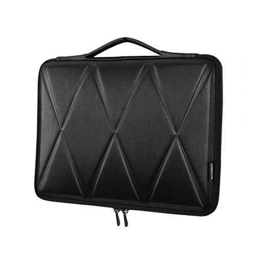 MCHENG Stoßfeste Wasserdicht Laptoptasche Sleeve Notebook Laptophülle Schutzhülle, Schwarz