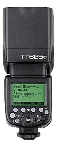 Godox TT685C TTL HSS 1/8000s GN60 2.4G Wireless Blitzgerät Aufsteckblitz Speedlite für Canon EOS Kamera
