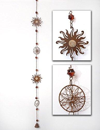 Girlande Sonnenfänger mit Glocke 110 cm