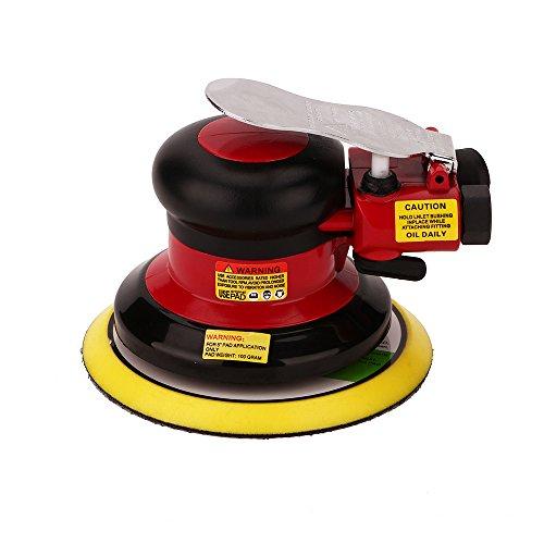 Hochwertig Druckluft Schleifer Excenterschleifer Schleifmaschine, Niedrige Vibration, Schwerlast Maschine … (Excenterschleifer -125mm)