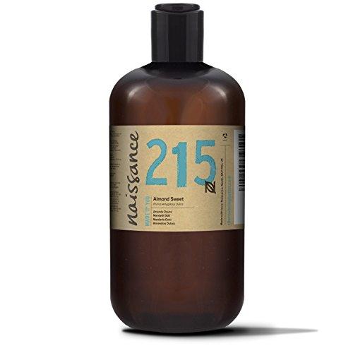 Naissance reines Mandelöl süß 500ml – Vegan, gentechnikfrei – Ideal zur Haut- und Haarpflege, für Aromatherapie und als Basisöl für Massageöle