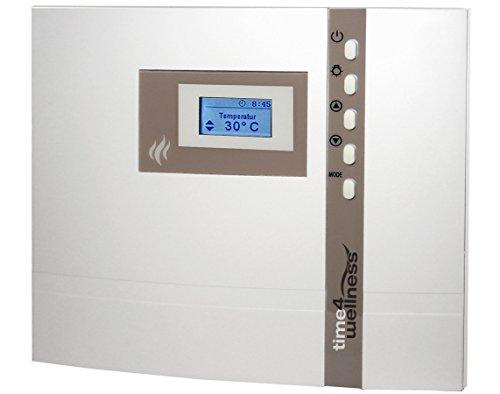 EOS Design Sauna Steuerung Steuergerät Econ D1 in Weiß MADE IN GERMANY für Finnische Sauna