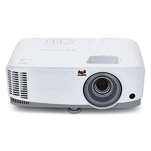 Viewsonic PA503W 3D Heimkino DLP Projektor (WXGA,  3.600 ANSI Lumen, HDMI, 2 Watt Lautsprecher, 1.1x optischer Zoom) Weiß-Grau