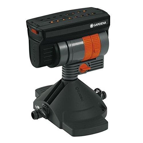 Gardena 8361-20-20 Viereckregner OS 90; für Micro Drip System; Sprengbreite, Wurfweite, Durchfluss einstellbar; Einfache Installation (Fläche: 1 - 90m²; Sprengbreite: 0,5m - 7m; Wurfweite: 1,5 - 13 m)