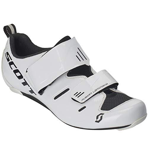 Scott Road Tri Pro Triathlon Fahrrad Schuhe weiß/schwarz 2019: Größe: 43