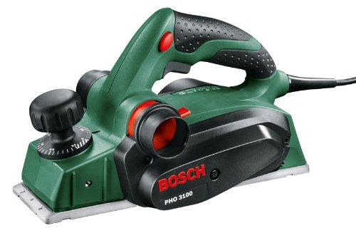 Bosch Handhobel PHO 3100 (Hobelmesser, Parallelanschlag, Koffer, 750 Watt)